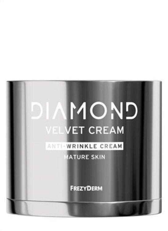 Frezyderm Diamond Velvet A-Wrinkle - Αντιγηραντική Κρέμα Προσώπου για Ώριμο Δέρμα 50ml