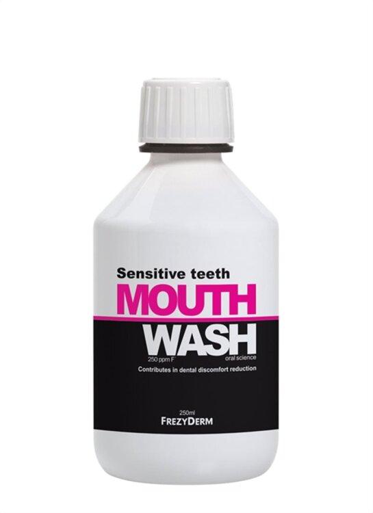 Frezyderm Mouthwash Sensitive Teeth Φθοριούχο Στοματικό Διάλυμα για Ευαίσθητα Δόντια 250ml