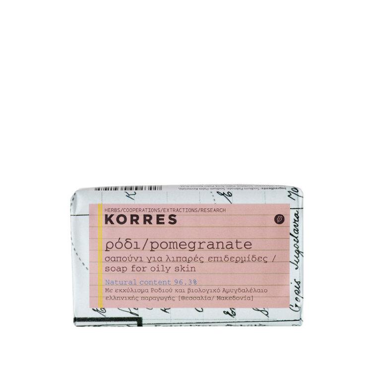 Korres Ρόδι Σαπούνι για Λιπαρές Επιδερμίδες 125g