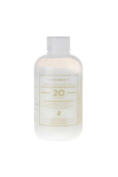 Korres Abyssinia Superior Gloss Colorant Γαλάκτωμα Ενεργοποιήσης Χρώματος Vol 20 150ml
