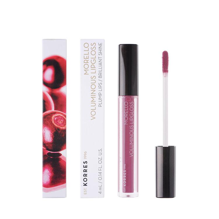 Korres Morello Voluminous Lipgloss 27 Berry Purple 4ml