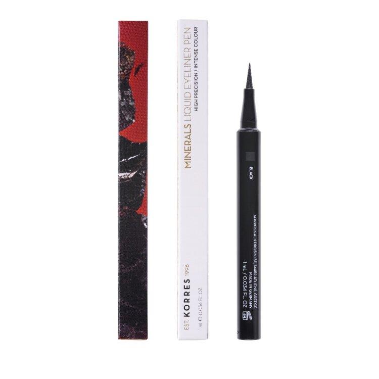 KORRES MINERALS Liquid Eyeliner Black 1ml