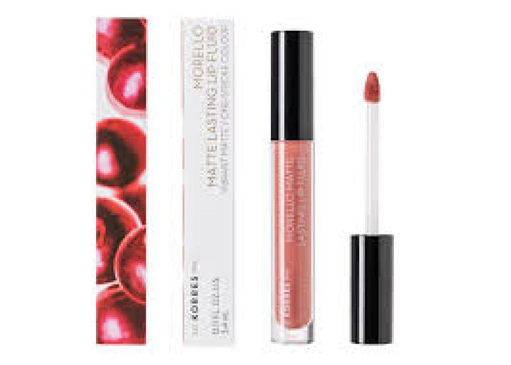 Korres Morello Matte Lasting Lip Fluid 06 Romantic Nude 3,4ml