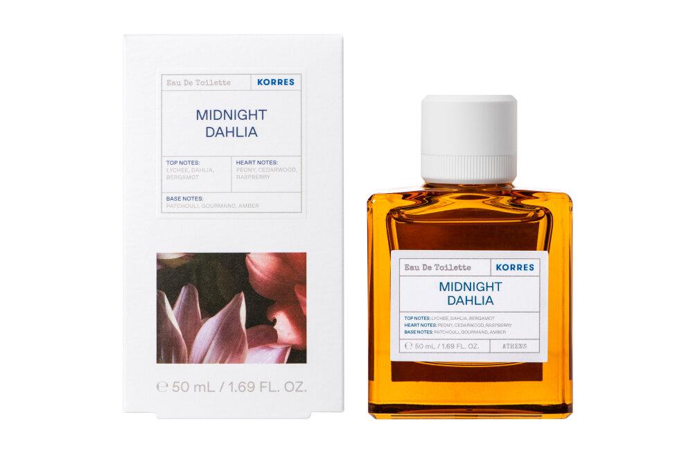 Korres Midnight Dahlia Eau De Toilette Άρωμα για Γυναίκες 50ml