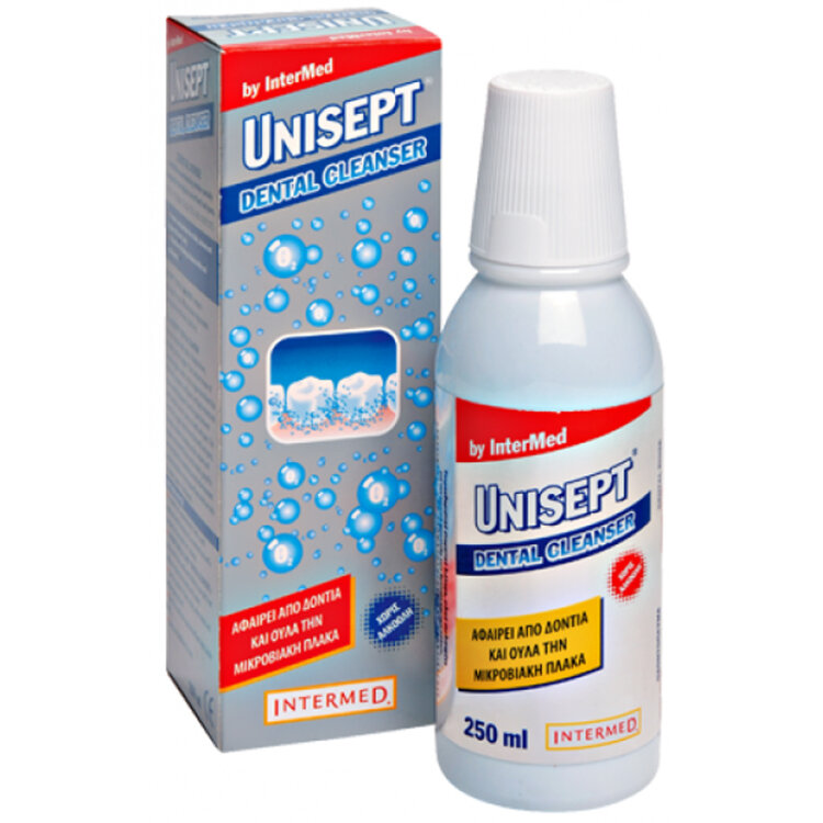 Intermed Unisept Dental Cleanser Στοματικό Διάλυμα 250 ml