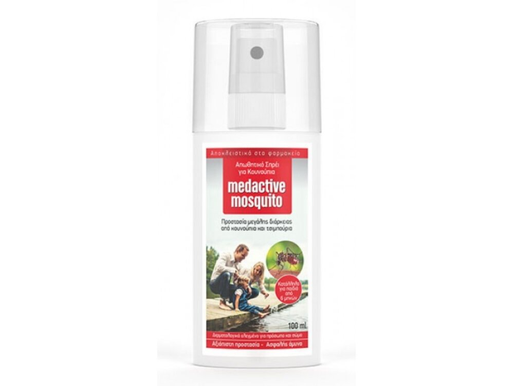 Medactive Mosquito Αντικουνουπικό 100ml