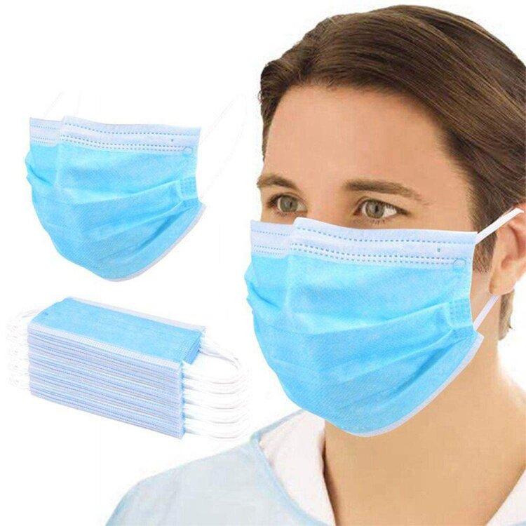 Fiber Μάσκες Τύπου ΙΙ 50 Τεμάχια