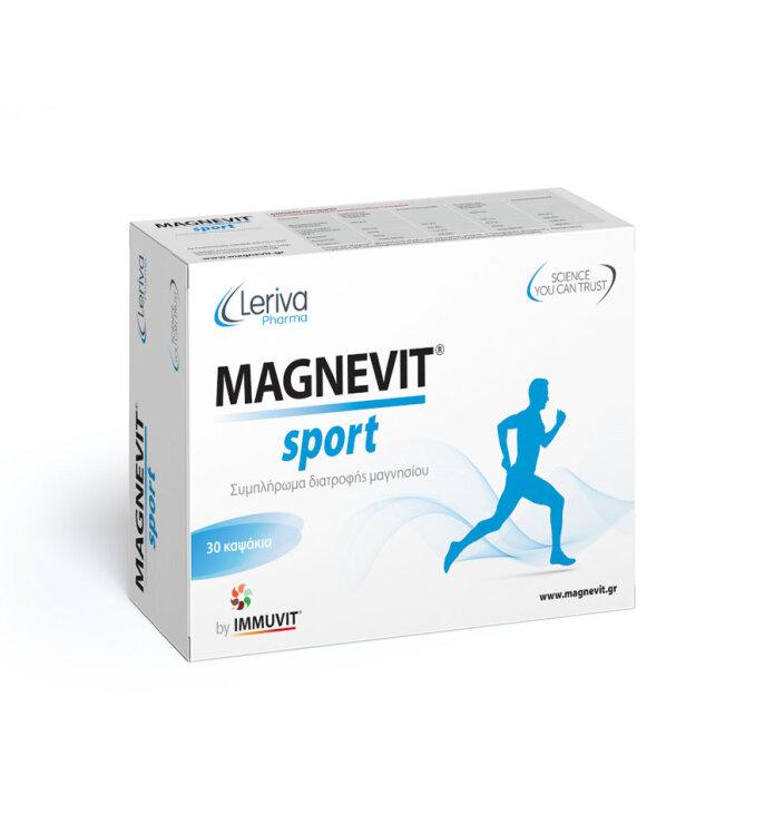 Leriva Magnevit Sport 30 κάψουλες