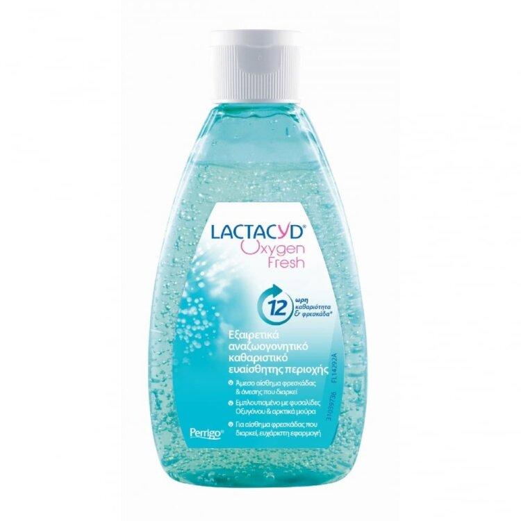 Lactacyd Oxygen Fresh Αναζωογονητικό Καθαριστικό Ευαίσθητης Περιοχής 200ml