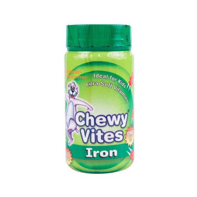Chewy Vites Jelly Bears Σίδηρος 60 Μασώμενα Zελεδάκια