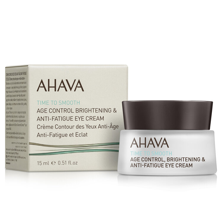 Ahava Age Control Brightening and Anti-Fatigue Eye Cream, Κρέμα Ματιών Υψηλής Ενυδάτωσης 15ml