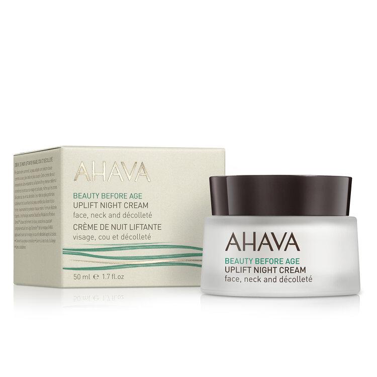 Ahava Beauty Before Age Uplift Night Cream, Επανορθωτική Κρέμα Νύχτας Προσώπου 50ml
