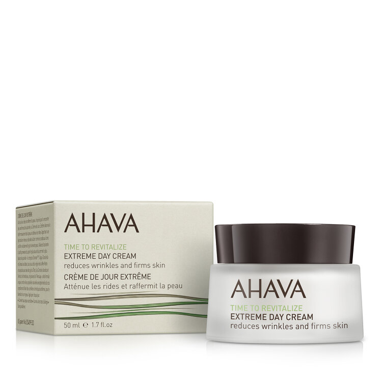 Ahava Time To Revitalize Extreme Day Cream, Κρέμα Ημέρας Άμεσης Σύσφιξης Προσώπου 50ml