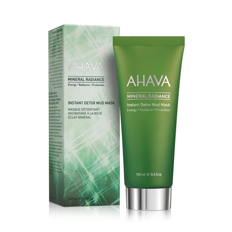 Ahava Mineral Radiance Instant Detox Mud Mask, Μάσκα Προσώπου Αποτοξίνωσης Κατά Των Ρύπων 100ml