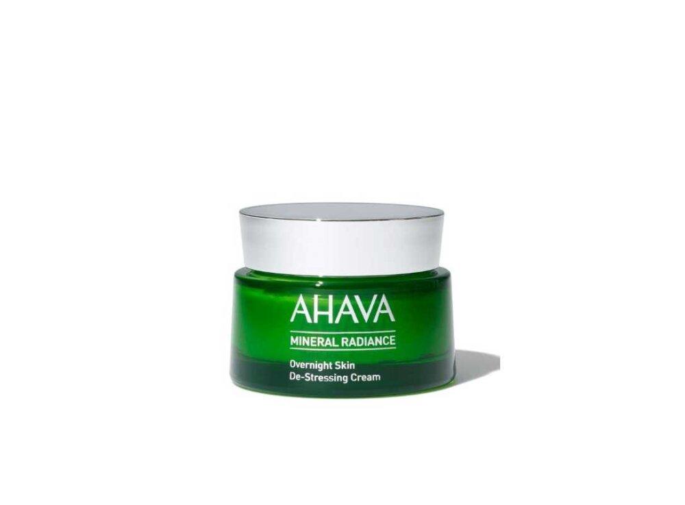 Ahava Mineral Radiance Overnight De-Stressing Cream, Θρεπτική Κρέμα Νυχτας 50ml