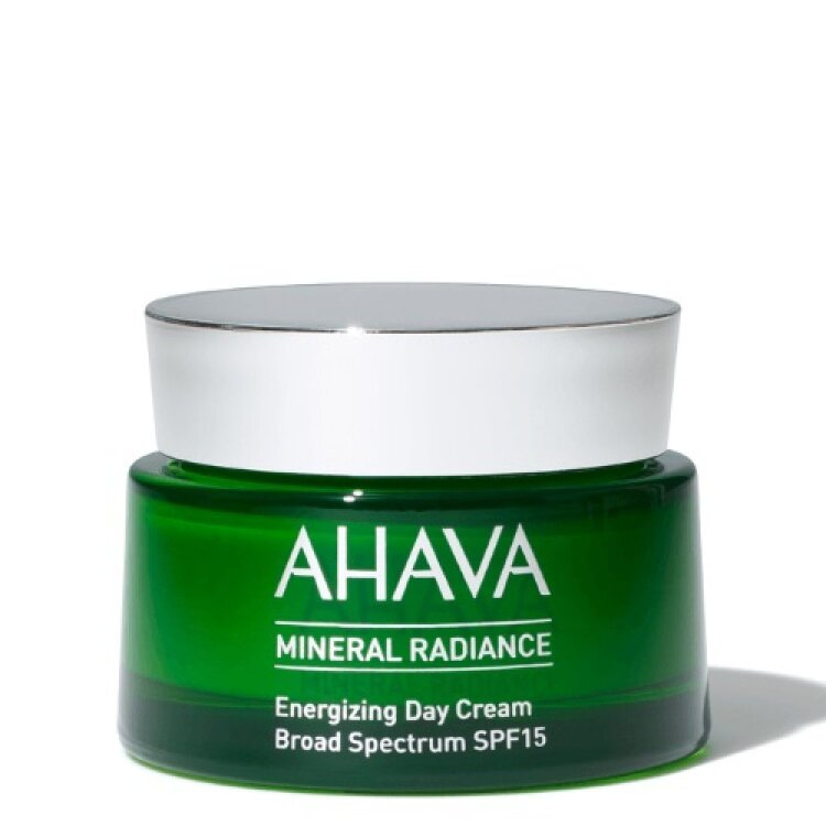 Ahava Mineral Radiance Energizing Day Cream SPF 15, Κρέμα Ημέρας Για Λάμψη 50ml