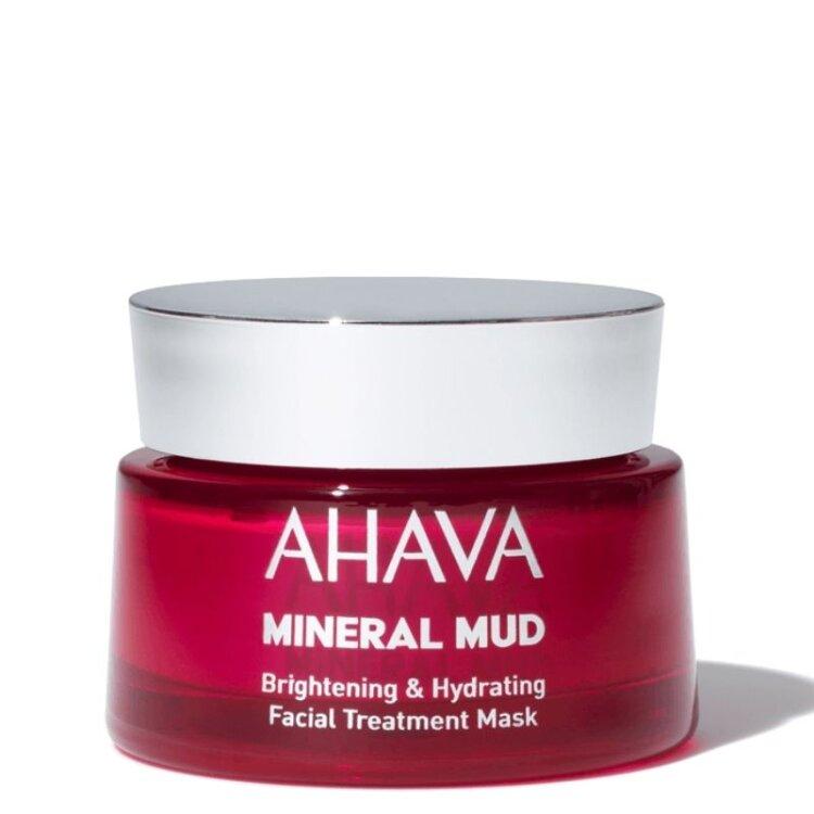 Ahava Mineral Mud Brightening & Hydrating Facial Treatment Mask, Μάσκα Προσώπου για Ενυδάτωση & Λάμψη 50ml