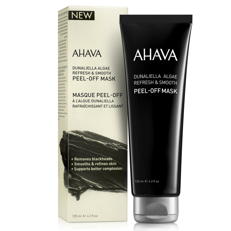 Ahava Mineral Masks Dunaliella Algae Peel-Off Mask, Μάσκα Προσώπου 125ml