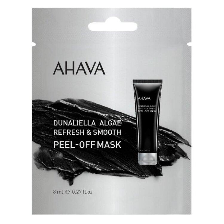 Ahava Mineral Masks Dunaliella Algae Peel-Off Mask, Μάσκα Προσώπου Με Κάρβουνο Για Τα Μαύρα Στίγματα 8ml