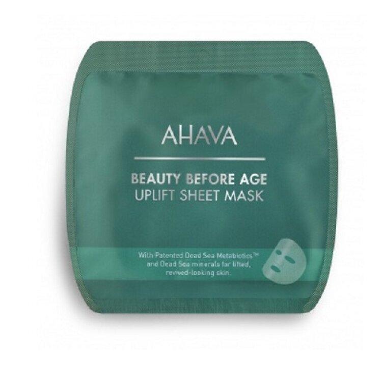 Ahava Beauty Before Age Uplift Sheet Mask, Μάσκα Προσώπου για Σύσφιξη 17gr