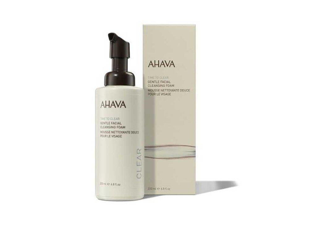 Ahava Time To Clear Gentle Facial Cleansing Foam, Απαλός Αφρός Προσώπου Για Καθαρισμό 200ml