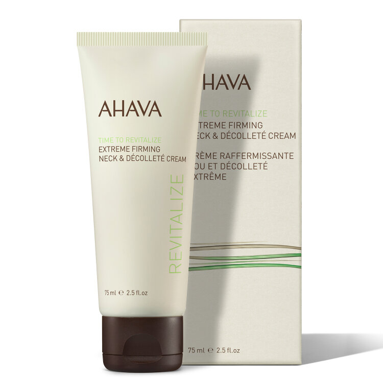 Ahava Time To Revitalize Extreme Firming Κρέμα Σύσφιξης για Λαιμό & Ντεκολτέ 75ml