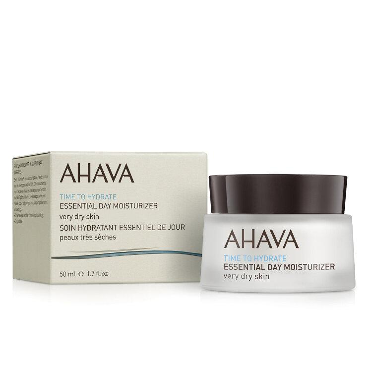Ahava Time To Hydrate Essential Day Moisturizer Ενυδατική Cream Για Ξηρά Δέρματα 50ml