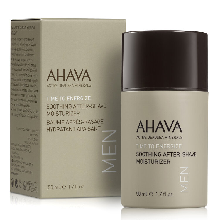 Ahava Men Care Soothing After-Shave Moisturizer, Ενυδατική Κρέμα Για Μετά Το Ξύρισμα 50ml