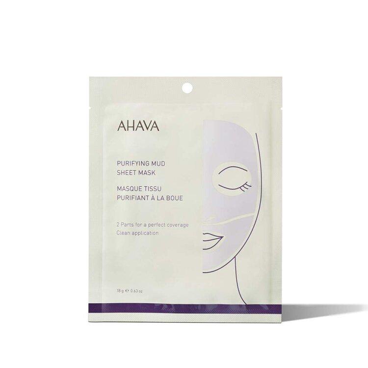 Ahava Purifying Mud Sheet Mask, Μάσκα Προσώπου Με Λάσπη 18g
