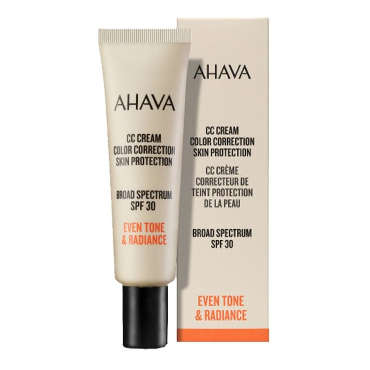Ahava CC Cream Color Correction Skin Protection,Κρέμα Διόρθωσης Χρώματος Ευρέως Φάσματος SPF30,30ml