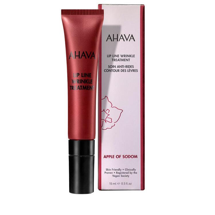Ahava Lip Line Wrinkle Apple Of Sodom Αντιρυτιδική Θεραπεία για τη Γραμμή των Χειλιών 15ml