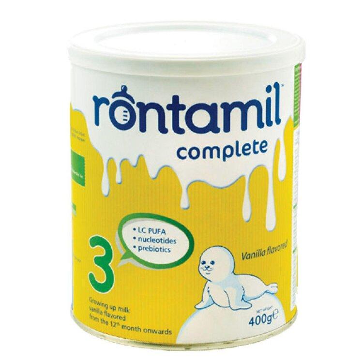 Rontamil Complete 3 Γάλα σε σκόνη από τον 12o μήνα 400gr