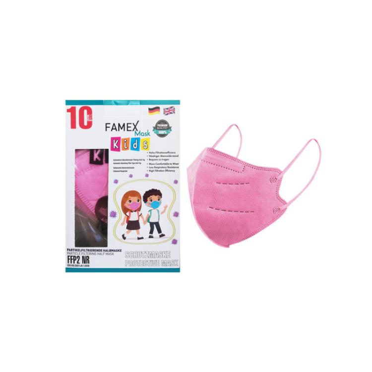 Famex Kids Mask FFP2 NR Pink 10pcs