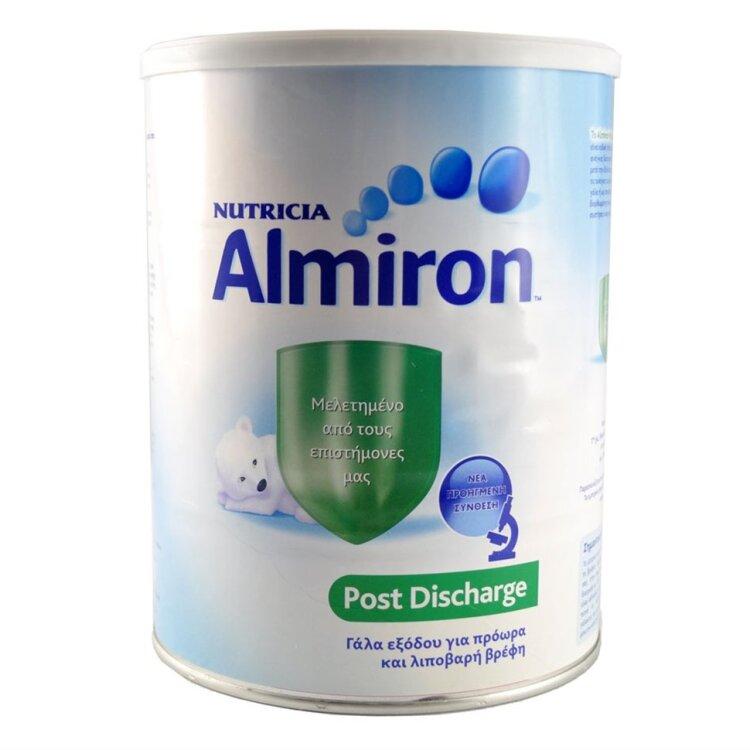 Nutricia Almiron Post Discharge, Ειδικό γάλα για πρόωρα και λιποβαρή μωρά 400gr