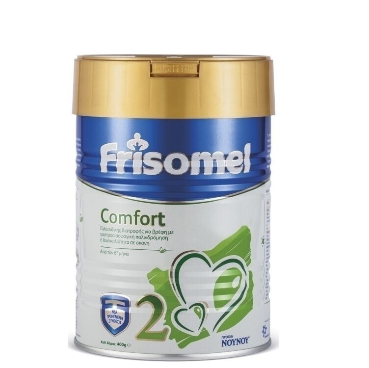NOYNOY Frisomel Comfort No2, Για Δυσκοιλιότητα ή Γαστροοισοφαγική Παλινδρόμηση 400gr