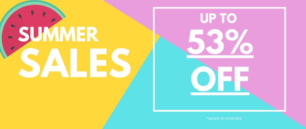 Summer Sales up to 53%