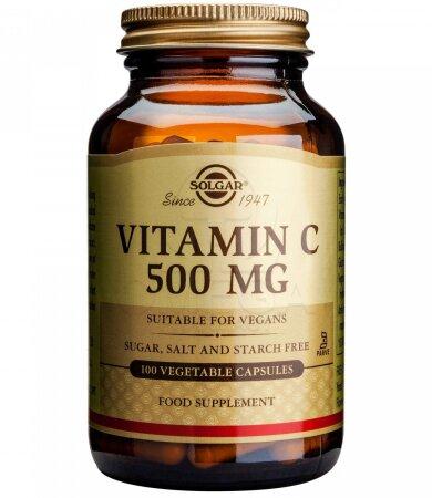 Solgar Vitamin C 500mg veg. 100 caps