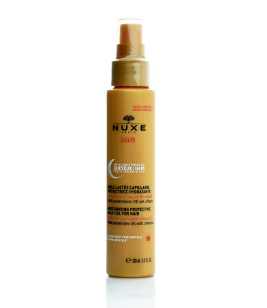 Nuxe Sun Moisturising Milky Oil for Hair, Αντηλιακό Ενυδατικό Γαλάκτωμα Μαλλιών 100ml