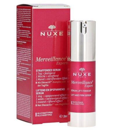 Nuxe Merveillance Expert Serum Lift-Tenseur, Ορός Ανόρθωσης για Ορατές Ρυτίδες για Όλους τους Τύπους 30ml