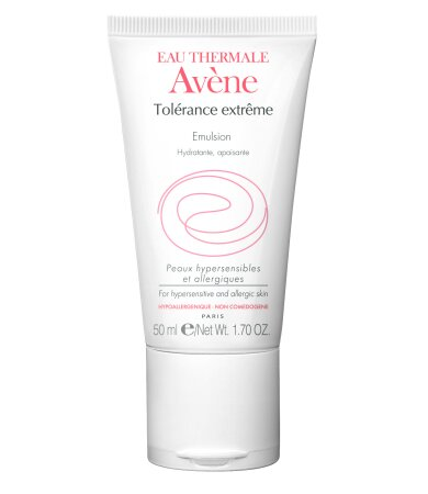 Avene Eau Thermale Tolerance Extreme Emulsion Texture Legere Ενυδατικό Γαλάκτωμα Προσώπου Ελαφριάς Υφής 50ml
