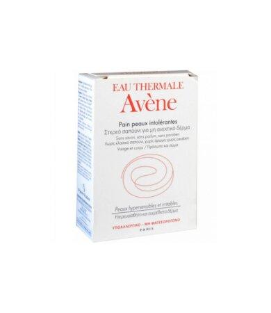 Avene Soap - Στερεό Σαπούνι για Μη Ανεκτικό Δέρμα, Πρόσωπο & Σώμα 100g
