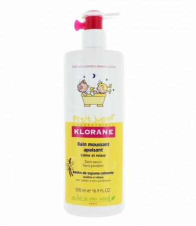 Klorane Petit Junior Ενυδατικό Αφρόλουτρο για παιδιά με Άρωμα Βανίλια & Μέλι 500ml