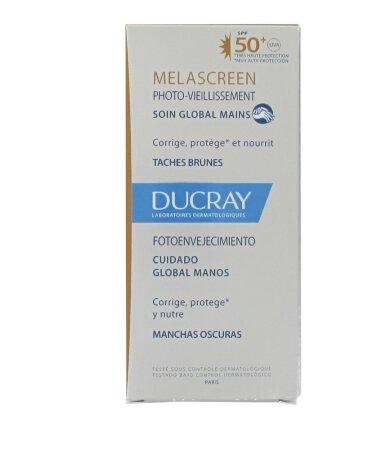 Ducray Melascreen Photo-Aging Creme Mains Global SPF50 Κρέμα Χεριών για Καφέ Κηλίδες 50ml