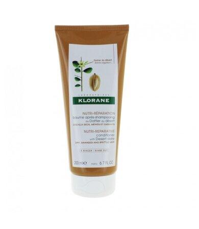 Klorane Baume Apres-Shampooing Au Dattier Du Desert, Κρέμα Μαλλιών με Χουρμά της Ερήμου για Θρέψη 200ml