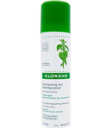 Klorane Ortie Με Τσουκνίδα Dry shampoo κατά της λιπαρότητας με εκχύλισμα τσουκνίδας 50ml