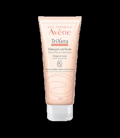 Avene TriXera NUTRITION Λεπτόρρευστο Θρεπτικό Gel Καθαρισμού για Ξηρό & Πολύ Ξηρό Δέρμα 100 ml