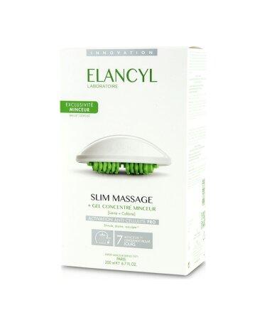 Elancyl Slim Massage & Gant Τζελ για Μασάζ κατά της Κυτταρίτιδας 200ml & Γάντι Αδυνατίσματος, 1 τεμάχιο