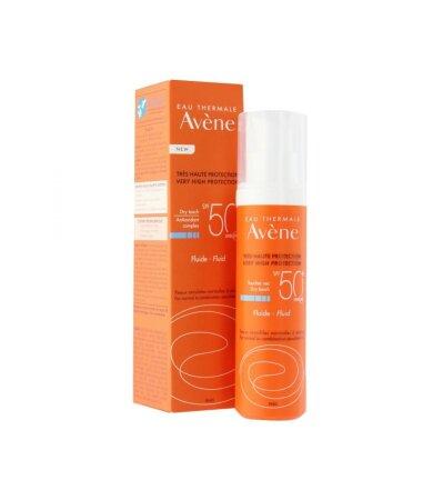 Avene Solaire Fluide SPF50+ Αντηλιακή Λεπτόρρευστη Κρέμα Προσώπου 50ml