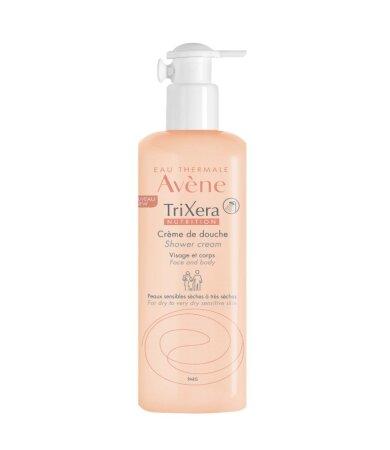 Avene TriXera Nutrition Θρεπτικό & Ενυδατικό Κρεμώδες Αφρόλουτρο 500ml