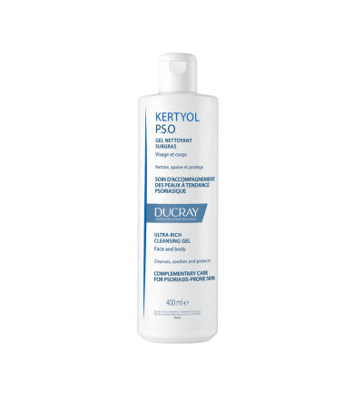 Ducray Kertyol PSO Gel Καθαρισμού Πρόσωπο-Σώμα 400ml